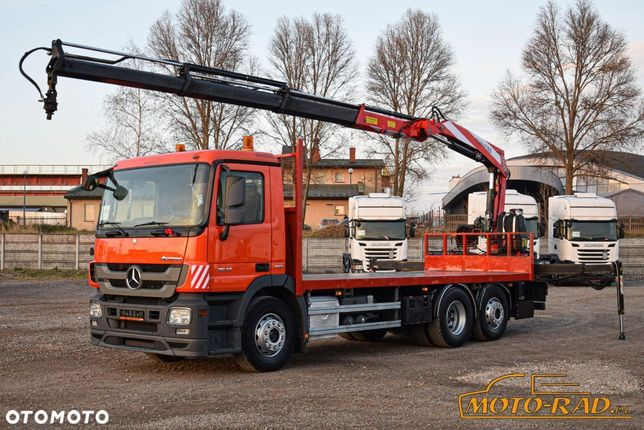 Mercedes-Benz Actros 2541 / 6x2 / Hds Fassi F155 / 3x Wysuw /