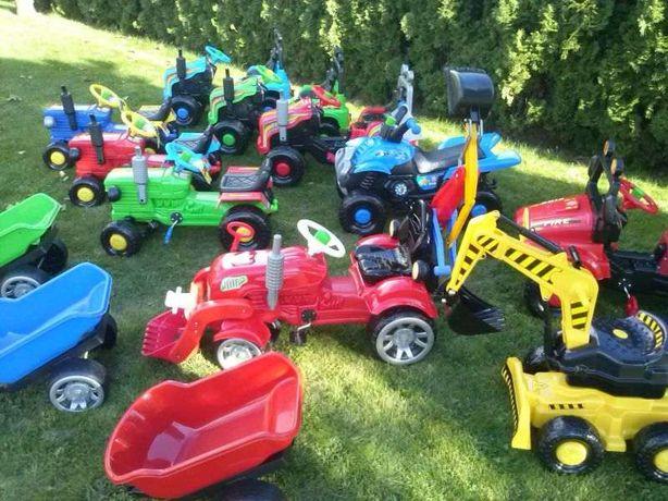 Duży QUAD na pedały dla dzieci lub traktor mega Rzeszów