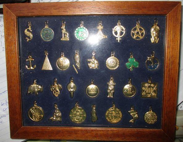 Amuletos / talismãs colecção