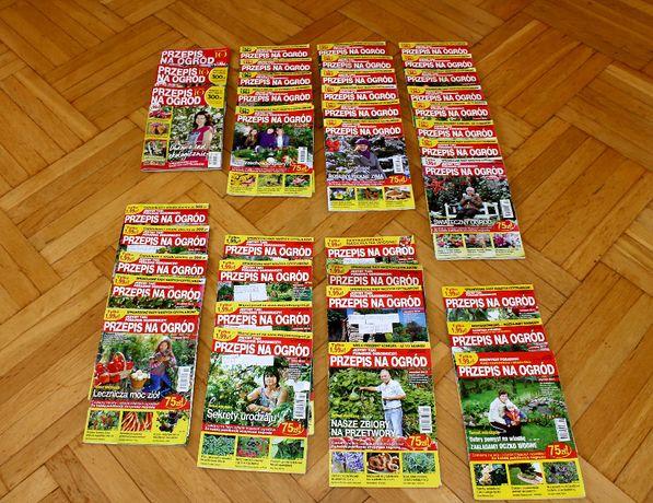 Przepis na ogród - 61 czasopisma  CZYTAJ OPIS