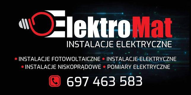 Instalacje Elektryczne, Tv, Monitoring, internet