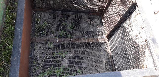 Клітка для нутрій кроликів