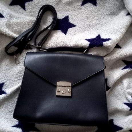 Синяя сумка портфель