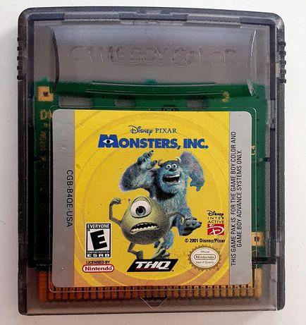 Gra Nintendo GameBoy Game Boy Color Monsters, Inc.
