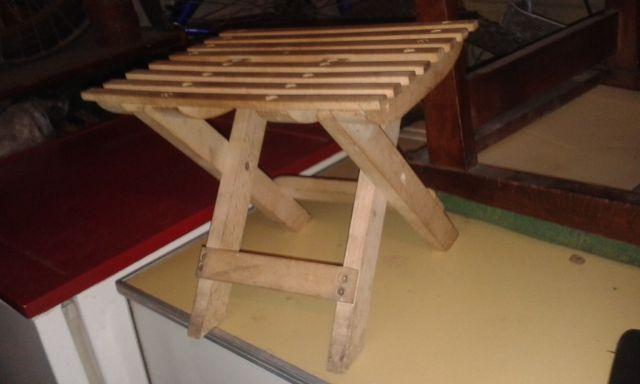 Раскладной стульчик (Бук)