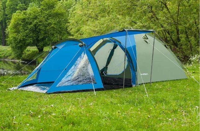 Прочная! Палатка 4-х местная Acamper SOLITER 4 PRO 2-х слойная. Польш