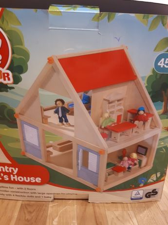 Play tive junior  Country Doll's House - drewniane domki dla lalek-