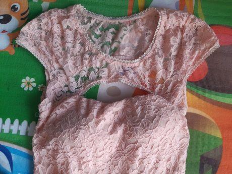 Koronkowa sukienka XS