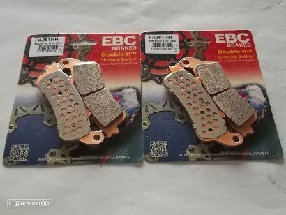 2 jogos Pastilhas Travao Frente Honda CB 1100 X11 de 2000 a 2003