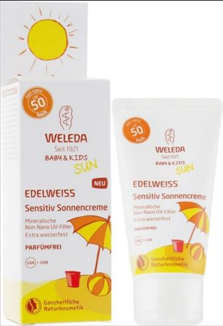 Солнцезащитный крем Weleda