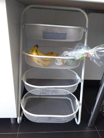 Prateleira / fruteira Gato Preto cozinha