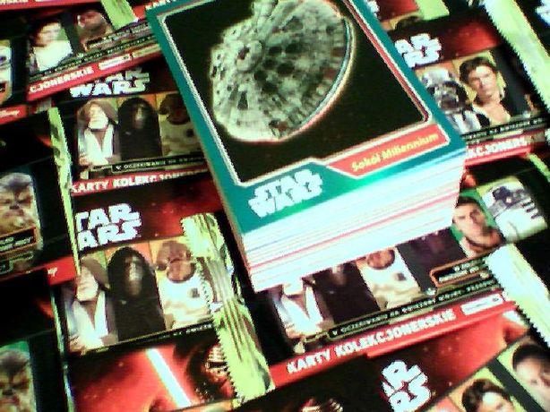 OKAZJA Przebudzenie mocy Karty STAR WARS 120 kart Carrefour Wysyłka