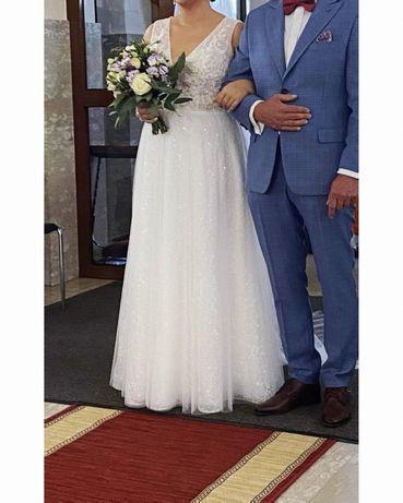 Biała suknia ślubna HERM'S BRIDAL / 40