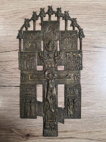 antyk krzyz starocerkiewny w dobrym stanie