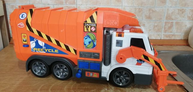 Мусоровоз Dickie Toys Дики Тойс грузовик погрузчик