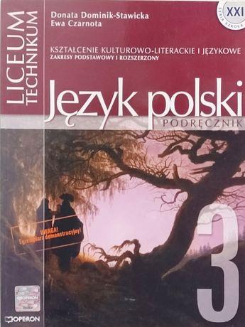 Język polski podręcznik 3. Liceum, technikum
