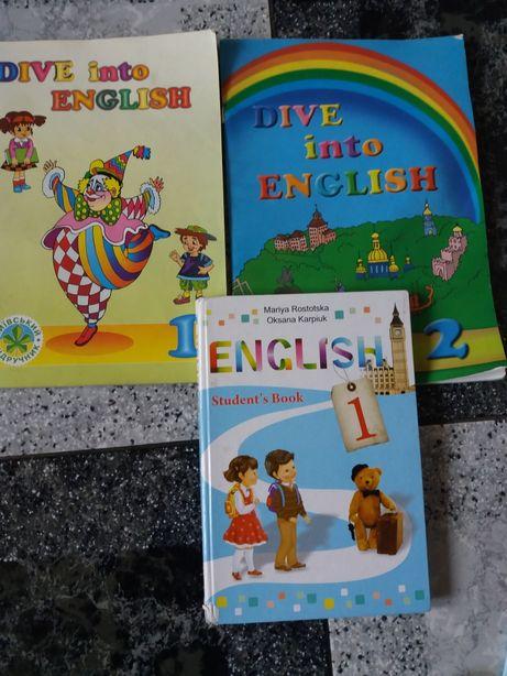 Підручник з англійської мови 1 та 2 класи