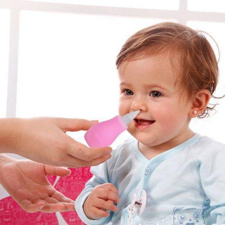 Aspirador Nasal Bebé Silicone BPA Free