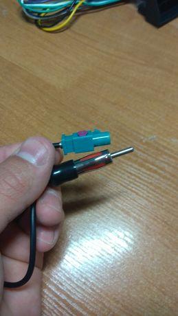 Переходник и антена к магнитоле от wag, подходит к кадику