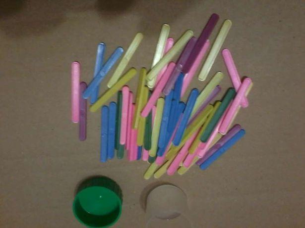 Букви цифри і палочки