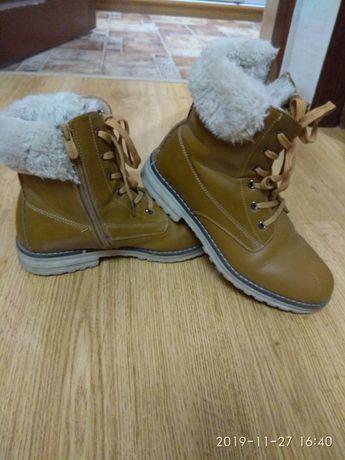 Зимние ботинки 37 размера