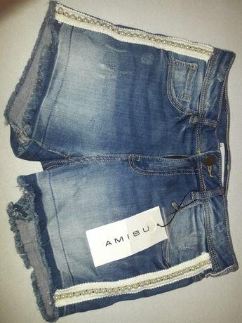 Шикарные шорты с кружевом Amisu S