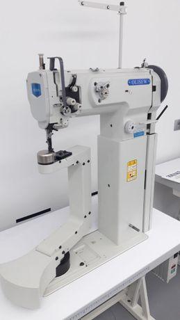 Maszyna słupowa OLISEW z obrotowym łożem ramieniowym 360stopni(juki)