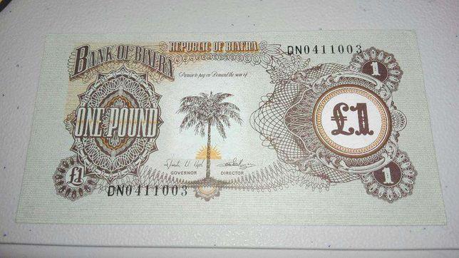 Nota de uma libra do biafra
