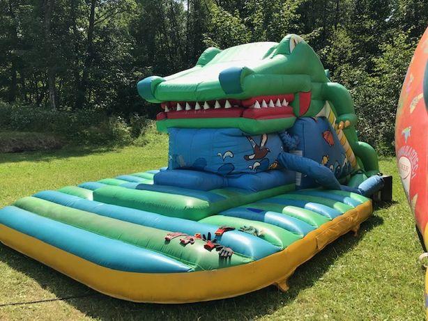 Zjezdzalnia dmuchana ,dmuchaniec , połykacz krokodyl