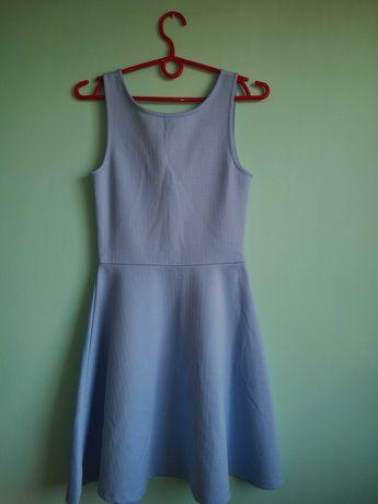 Sukienka baby Blue rozmiar s h&m na 165cm