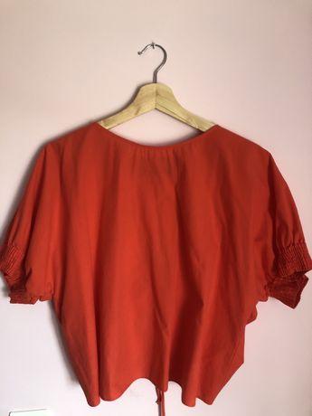 Blusa com costas ajustaveis - Zara