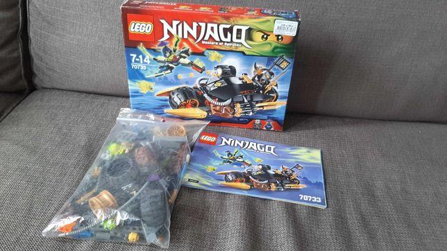 LEGO Ninjago 70733 Motocykl Cole'a