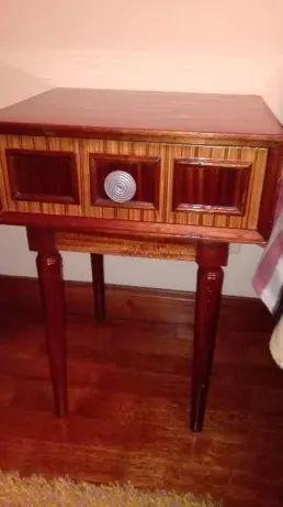 par de Mesa de cabeceira/apoio vintage .