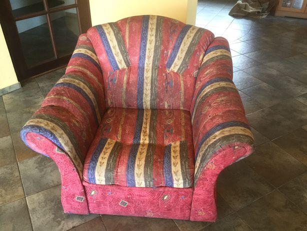 Fotel w niepowtarzalnej kolorystyce szer. 90 cm