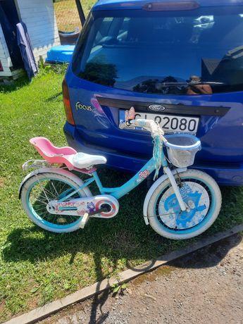 Rower dla dziewczynki oddam za słodycze