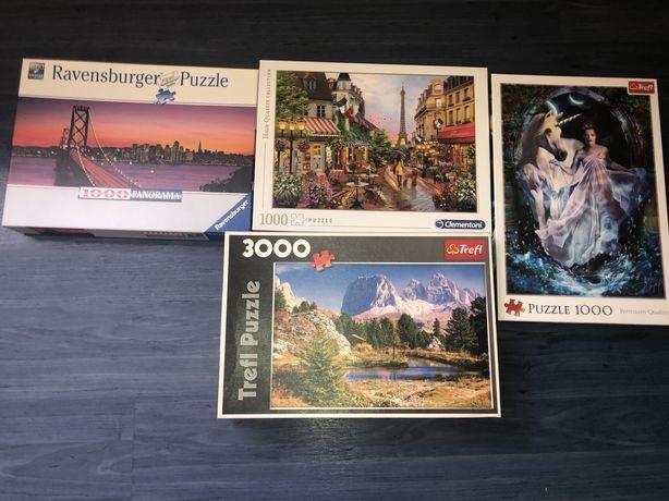 Puzzle 3x1000 1x3000