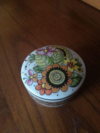 Caixa regaleira da vista alegre pintada à mão