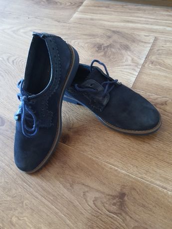 Туфли замшевые 34 размер