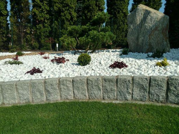 Palisada 10x20x40 granitowa ogrodowa opornik kostka brukowa granitowa