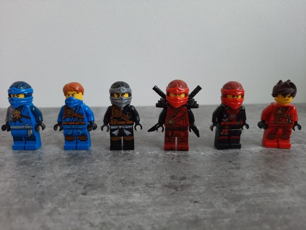 Lego ninjago- figurki na sztuki