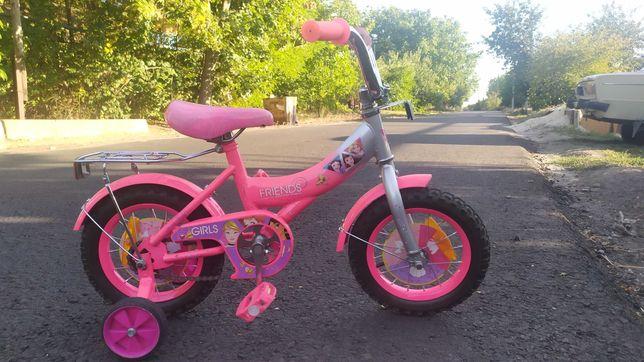 Детский велосипед. 12 колеса