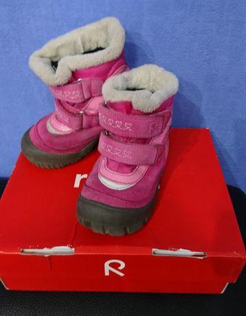 Зимние ботинки Reima tec, стелька 15.5-15.7см/размер 24
