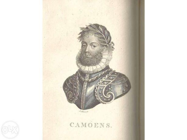 1804 CAMÕES | CAMOENS vida e obra rara 1ª edição Inglesa p/ STRANGFORD