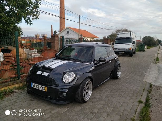 Kit  abas de alargamento  mini jcw