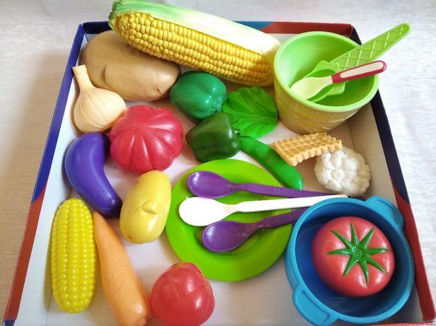 Набор овощей. В основном все очень хорошего качества.