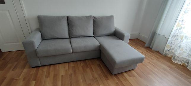 Sofá PALMA com chaise móvel