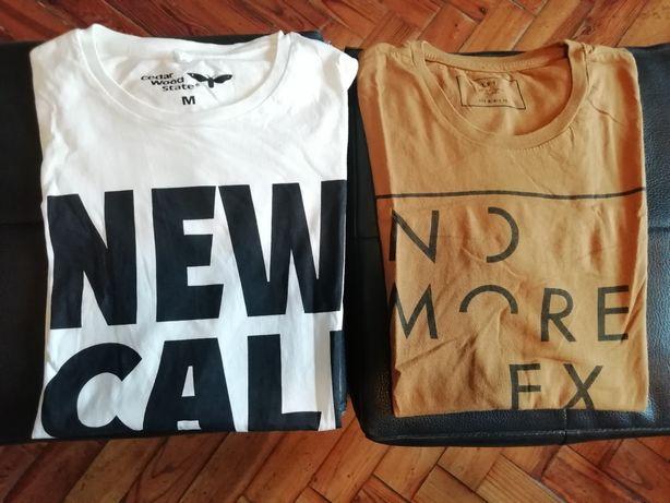 2 t-shirts estampadas - 6€