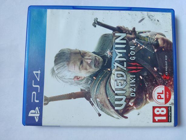 Wiedźmin III Dziki Gon PS4