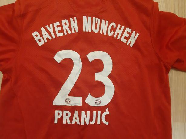 Koszulka Adidas Bayer Monachium Pranjic rozmiar XS LUB S pilka nożna