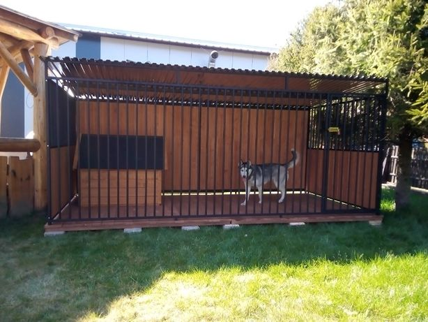 Kojce Klatki Boksy Kojec dla psa 3x3m